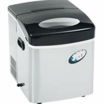 Machine à glaçon de table, inox , L 375 x P 435 x H 420 mm