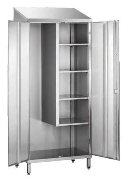 armoire d 39 entretien toit plat 1 porte non doubl e stl. Black Bedroom Furniture Sets. Home Design Ideas
