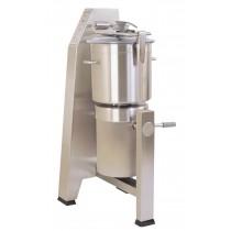 Cutter vertical modèle R 30 V.V., triphasé 400 V, vitesse variable, inox 28 litres