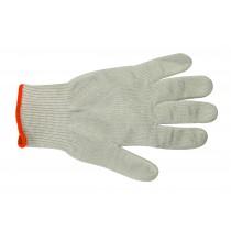 Gant anti-coupure, fibres Spectra et noyaux de fils d'inox, bleue