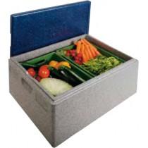 Boîte isotherme à ouverture sur le dessus, 600 x 400, contenance 53 L