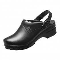 Sabots crocs professionnel Toffeln, couleur noir