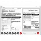Balance commerciale, étiqueteuse peseuse, Q6-F0-6