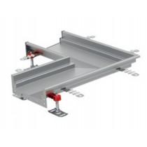 Caniveau Modul 200, éléments droits, avec pente, longueur 6000 mm, profondeur 100 à 140 mm