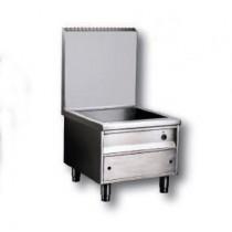 Meuble INOX A304 spécial induction, modulaire, modèle E, 6 000 W
