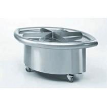 Meuble à coquillages, acier inoxydable, L 2065 x P 1345 x H 850 mm