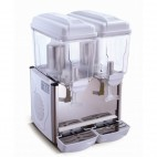 Distributeur de boisson réfrigéré 2 cuves 2 x 12 Litres