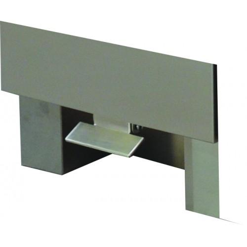 P dale d 39 ouverure inox pour meuble poubelle sur tiroir coulissant stl sarl materiels - Tiroir coulissant pour meuble cuisine ...