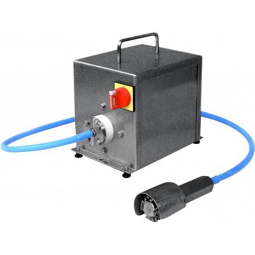 Écailleur à poisson électrique, en inox, 0,18 kW