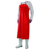 Tablier rouge de laboratoire en polyurethane 30/100