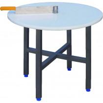 Table de découpe  pour meule , plateau poly HD500