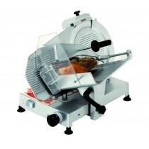 Trancheur manuel inox à gravité, en inox, 230 V mono, hauteur 530 mm