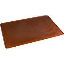 Plaque aluminium 20/10ème traitement silicone, pleine, 400 x 800 mm