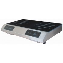Plaque induction, GL2 6000 S,2  foyers induction, 6000 W, 230 V