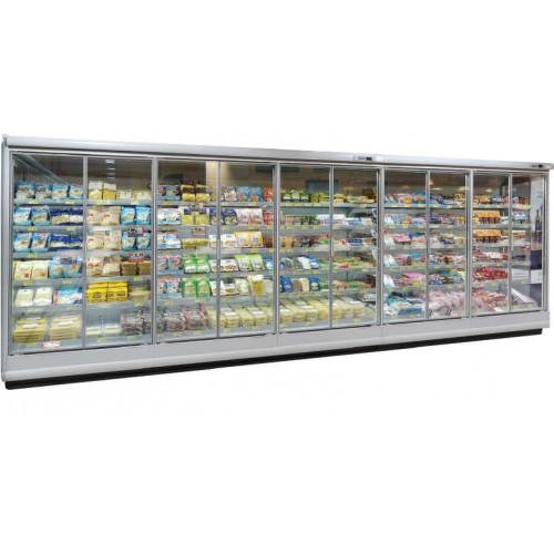 Vitrine verticale, murale réfrigérée, PALCO 2 M1 3750 P95 H225, spéciale viandes
