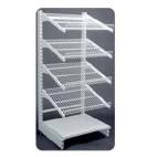 Etagère self 4P pour armoire et mini-chambre, SELF 4P