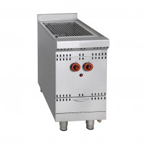 Grill à gaz haut rendement, ligne 800, modèle GGSD-1C, longueur 400 mm