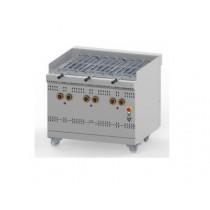 Grill à gaz rotatif haut rendement, ligne 900 simple, modèle GGSDR, hauteur 925 mm