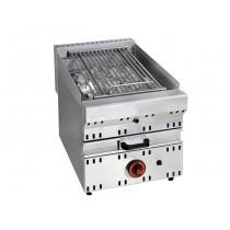 Grill en pierre de lave à gaz, ligne 700, modèle GPV, longueur 400 mm