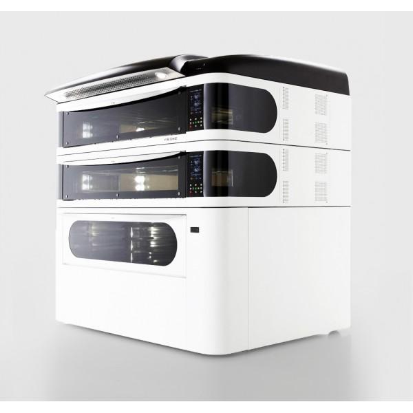 Four à pizza, éléctrique numérique, couleur blanc, VISIOME44/C