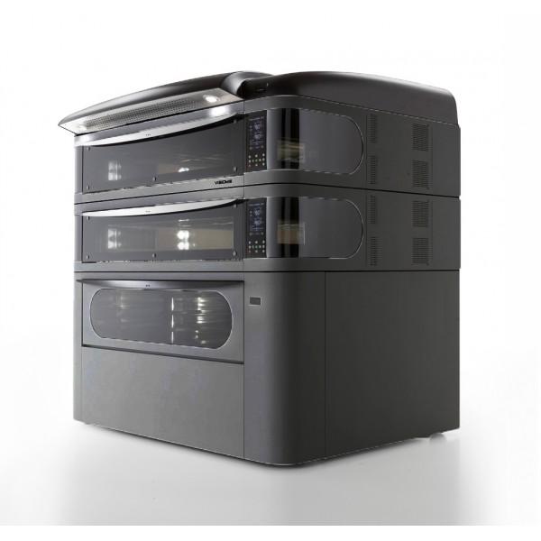 Four à pizza, éléctrique numérique, couleur noir, VISIOME44/C