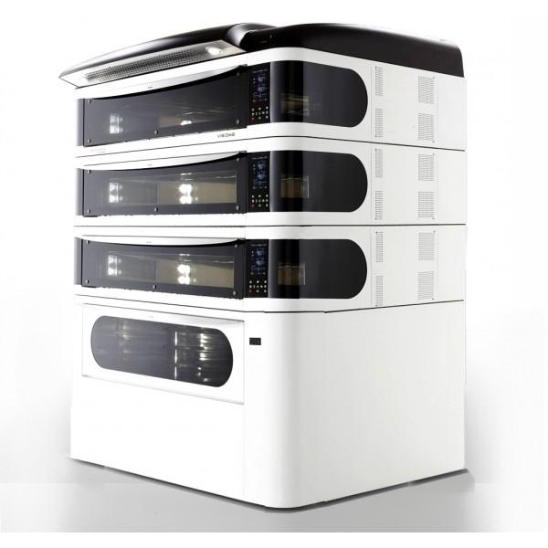 Four à pizza, éléctrique numérique, couleur blanc, VISIOME444/C