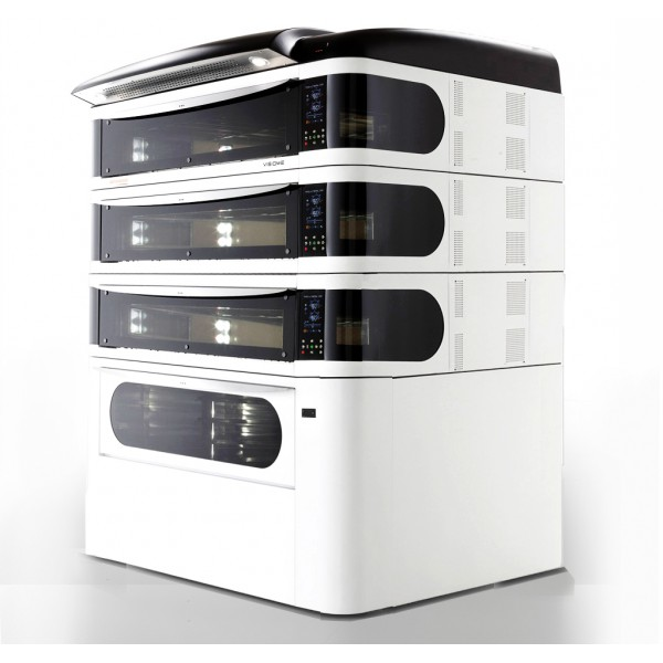 Four à pizza, éléctrique numérique, couleur blanc, VISIOME999/C
