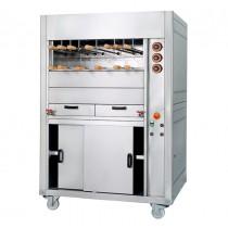 Grill à gaz pour Rodizio, ligne 740, modèle RBG, longueur 1100 mm