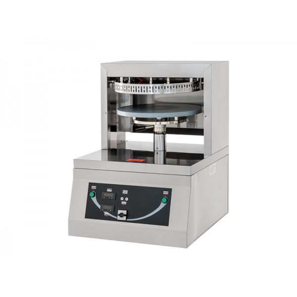 Presse pizza, actionnement mécanique, acier inoxydable AISI 304, PRESSA 45