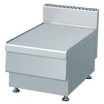 Elément neutre, acier inoxydable, L 400 x P 650 x H 475 mm