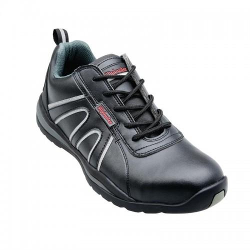 design intemporel e0dc2 10e4b Chaussures de sécurité cuisine Slipbuster, dessus en cuir