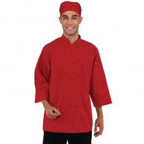 Veste chef unisexe Chef Works rouge