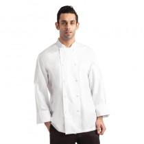 Veste chef mixte blanche à manches longues Chef Works Calgary Cool Vent