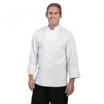 Veste chef unisexe Chef Works Le Mans blanche