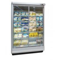 Vitrine verticale, murale réfrigérée, PALCO 2 M2 1250 P105 H225, spéciale produits laitiers
