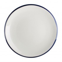 Assiette plate en porcelaine Olympia Brighton, Ø 230 mm, lot de 6