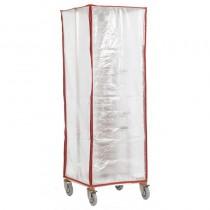 Housse de protection cristal armé pour chariot PM 48 pliant, hauteur 1140 mm