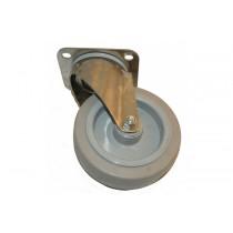 Roue non freinée diamètre 125 mm, pièce détachée pour fours et étuves