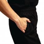 Pantalon de cuisinier mixte traité au Teflon Easyfit, taille XL