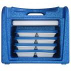 Valisette isotherme, 2 compartiments, hauteur 315 mm