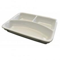 Vaisselle en porcelaine, 3 compartiments, volume 170 / 380 / 470 ml