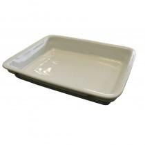 Vaisselle en porcelaine, 1 compartiment, volume 1 x 900 ml