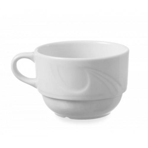 Tasse à mocha, porcelaine blanche, 90 ml