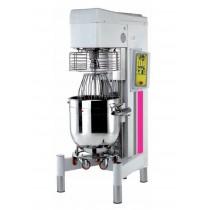 Batteur mélangeur avec variateur de vitesse, commande digital, capacité cuve 80 litres