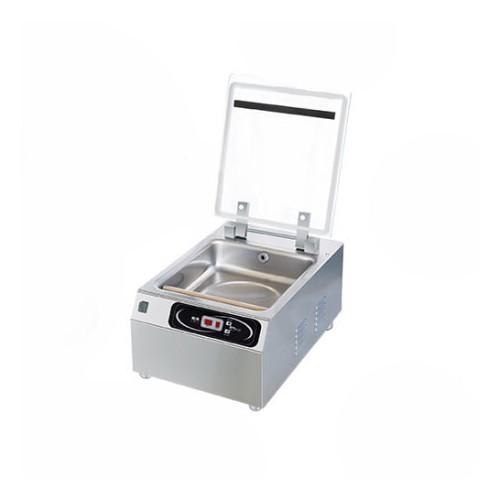 Machine sous vide professionnel, aspiration sous cloche, barre de soudure 250mm