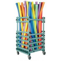 Chariot porte frites, stockage vertical