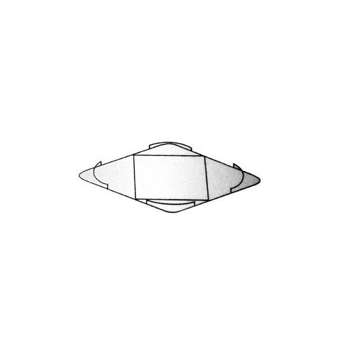 Support panier rond 400 x 400 mm pour lave-vaisselle