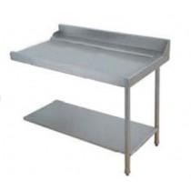 Table de sortie pour machines à paniers 500 x 500 ou 600 x 500