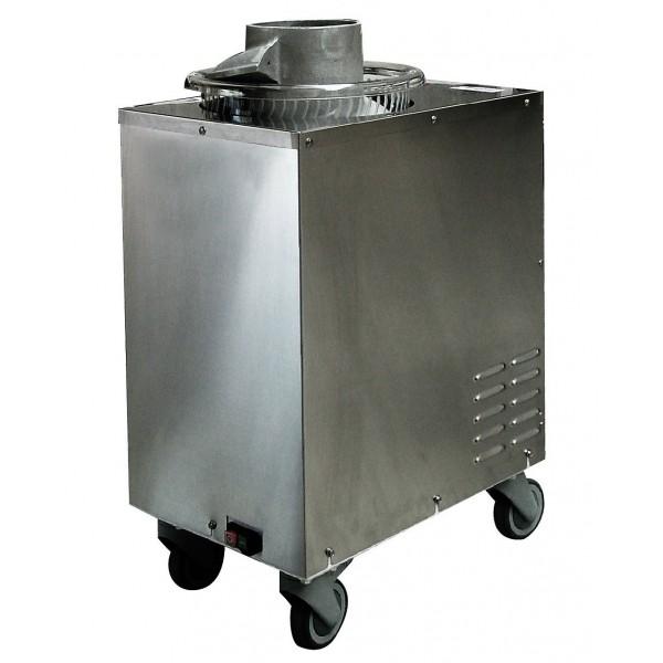 Bouleuse pour pâte à pizza, corps en inox, 0.37 kW