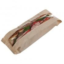 Sachet sandwich baguette en papier recyclable, lot de 1000